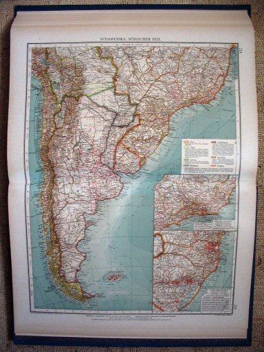 italie zuiden kart eilanden